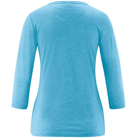 Maier Sports Clare 3/4 Shirt Damen ethereal blue melange